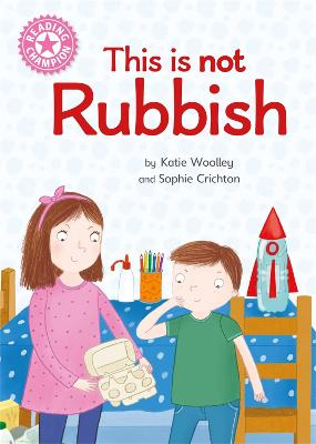 Reading Champion: This is not Rubbish: Independent Reading Non-Fiction Pink 1a book