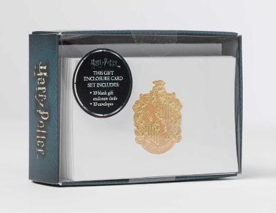 Harry Potter: Hufflepuff Crest Foil Gift Enclosure Cards (Se by Insight Editions