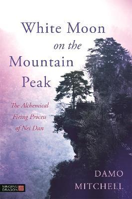 White Moon on the Mountain Peak by Damo Mitchell