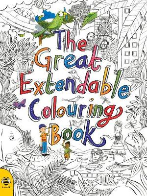 The Great Extendable Colouring Book by Sam Hutchinson