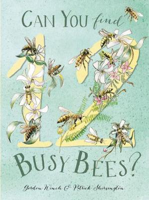 Can You Find 12 Busy Bees? book
