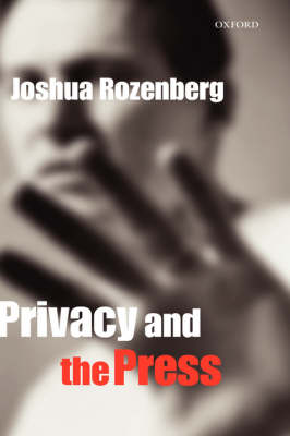Privacy and the Press book