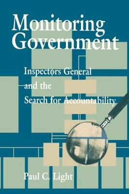 Monitoring Government by Paul C. Light