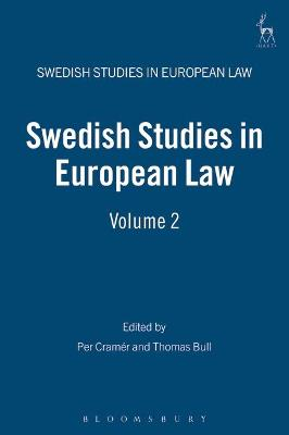 Swedish Studies in European Law book
