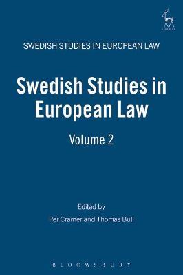 Swedish Studies in European Law by Per Cramer