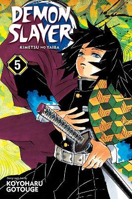 Demon Slayer: Kimetsu no Yaiba, Vol. 5 book