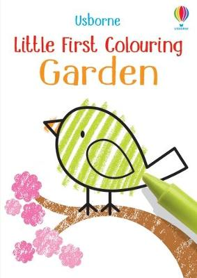 Little First Colouring Garden by Kirsteen Robson