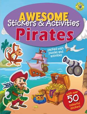 Pirates Sticker Activity Book by The Book Company