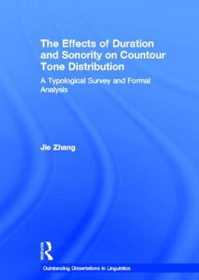 Effects of Duration and Sonority on Countour Tone Distribution book