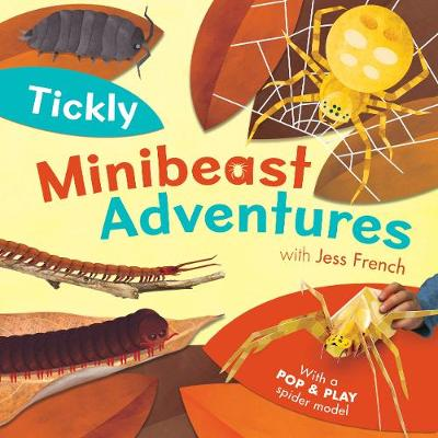Tickly Minibeast Adventures book