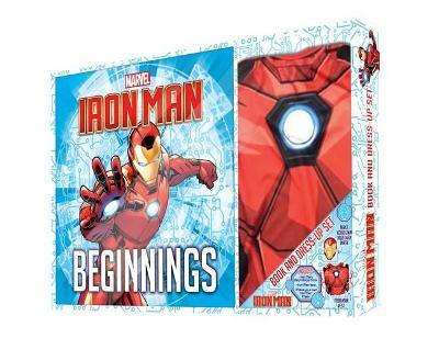 Iron Man Book & Dress-Up Box book