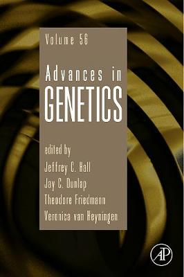 Advances in Genetics book