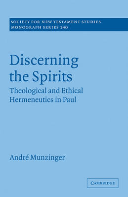 Discerning the Spirits by Andre Munzinger