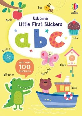 Little First Stickers ABC book