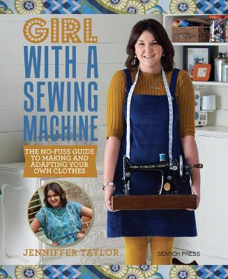 Girl with a Sewing Machine by Jenniffer Taylor