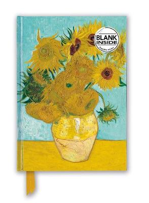 Vincent van Gogh: Sunflowers (Foiled Blank Journal) by Flame Tree Studio