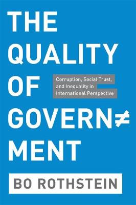 Quality of Government by Bo Rothstein