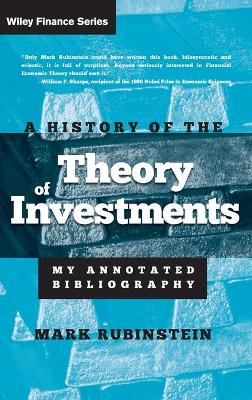 History of the Theory of Investments book