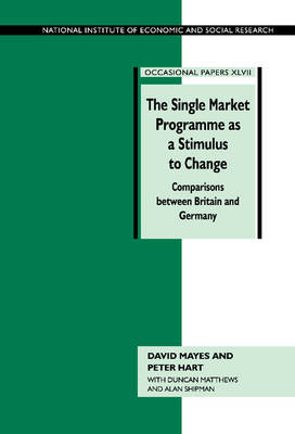 Single Market Programme as a Stimulus to Change by David G. Mayes