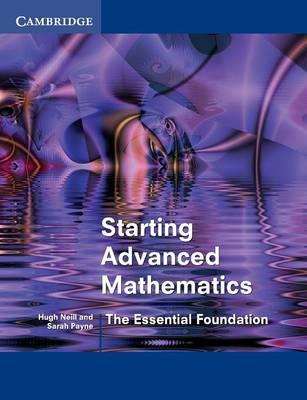 Starting Advanced Mathematics book