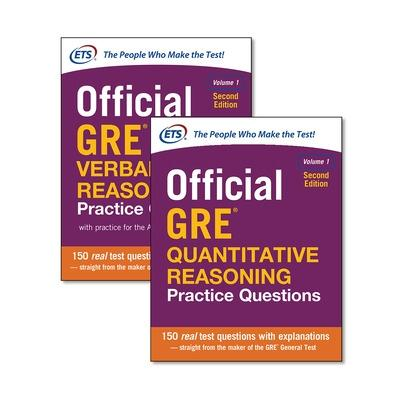 Official GRE Value Combo by Educational Testing Service