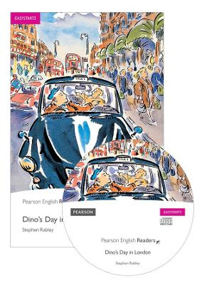 Easystart: Dino's Day in London Book and CD Pack by Stephen Rabley