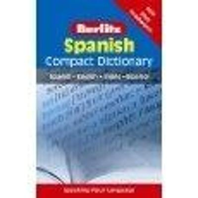 Berlitz Compact Dictionary Spanish by APA Publications Limited