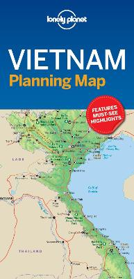 Lonely Planet Vietnam Planning Map by Lonely Planet