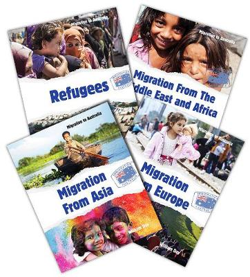 Migration to Australia Paperback Series Pack of 4 by William Day