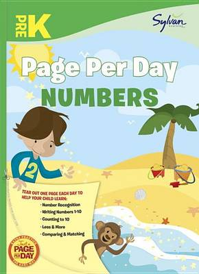 Pre-K Page Per Day by Sylvan Learning