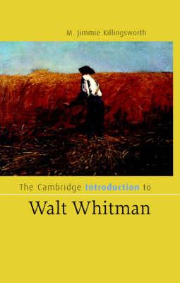 Cambridge Introduction to Walt Whitman book