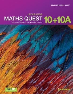 Jacaranda Maths Quest 10+10a Victorian Curriculum 1E (Revised) LearnON & Print by Kylie Boucher