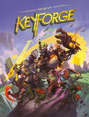 The Art Of Keyforge book