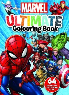 Marvel: Ultimate Colouring Book book