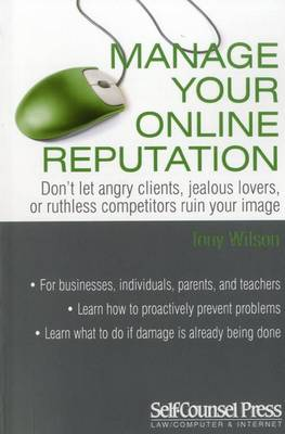 Manage Your Online Reputation book