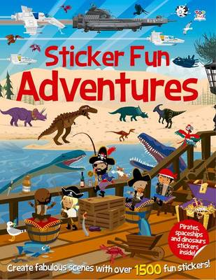 Sticker Fun Adventures by Dan Crisp