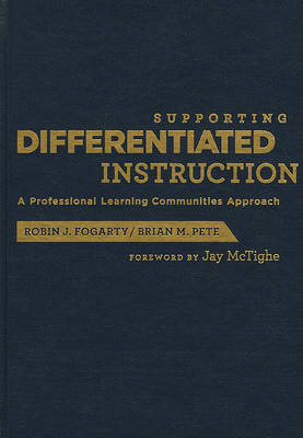 Supporting Differentiated Instruction by Dr Robin J Fogarty