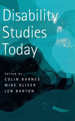 Disability Studies Today book