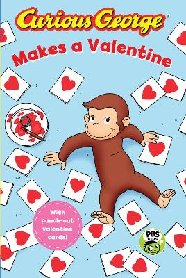 Curious George Makes a Valentine (GLR Level 2) by ,H.,A. Rey