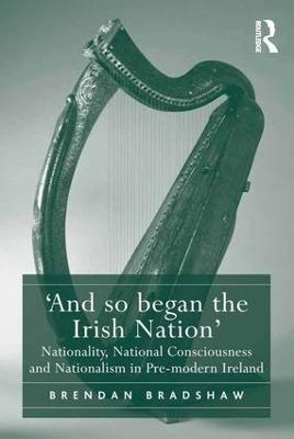 `And so began the Irish Nation' book