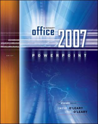 Microsoft Office PowerPoint 2007 book