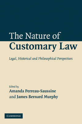 Nature of Customary Law book