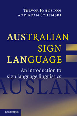Australian Sign Language (Auslan) book