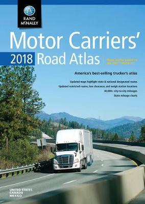2018 Rand McNally Motor Carriers' Road Atlas book