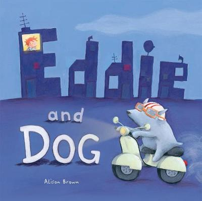 Eddie and Dog by Alison Brown