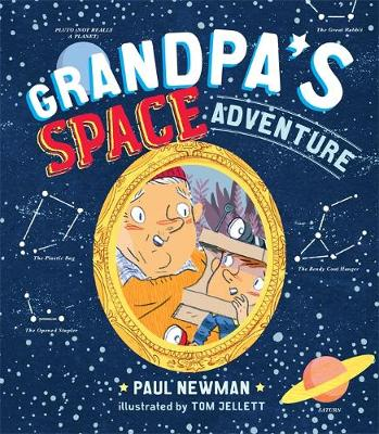 Grandpa's Space Adventure book