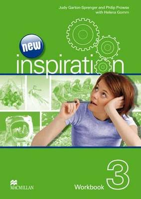 New Edition Inspiration Level 3 Workbook by Judy Garton-Sprenger