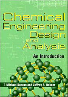 Chemical Engineering Design and Analysis book
