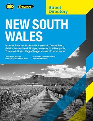 New South Wales Street Directory 20th ed by UBD Gregory's