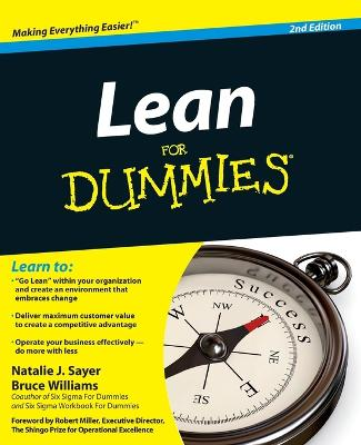 Lean for Dummies, 2nd Edition by Natalie J. Sayer